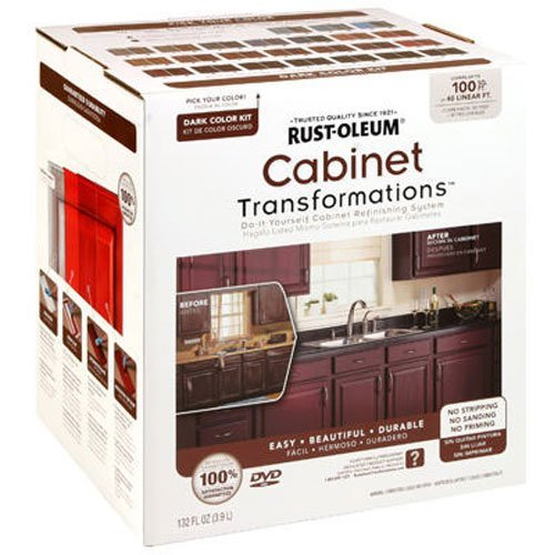 RUST-OLEUM 258240 Dark Tint Base Small Cabinet (Best Nuvo Kitchen Cabinets)