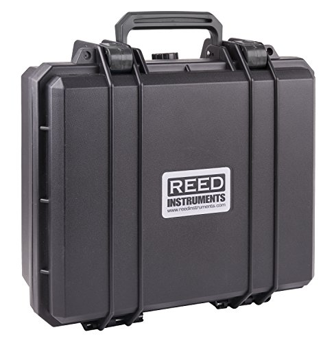 "REED Instruments R8890 Deluxe Hard Carrying Case, 15.7"" x 12.6"" x 6.7"""