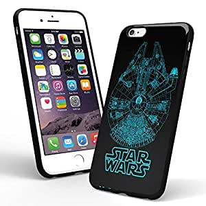Star Wars Ship Blueprints for Iphone Case and Samsung Case (iPhone 6 black)