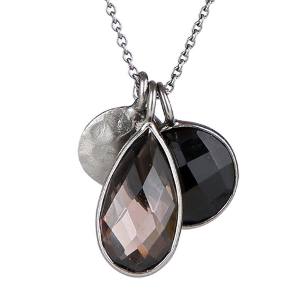 Nathis Smokey Quartz Gemstone Pendant