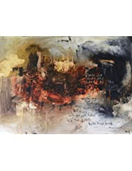 Psalm 37: 23-24 Scripture Abstract Art Painting