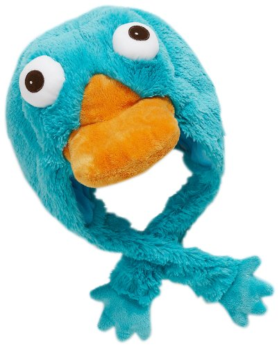Disney Perry the Platypus Hat - Official Pillow Pets Perry Plush Hat]()