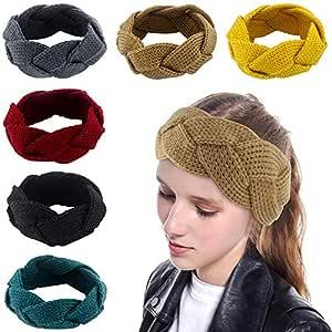Women/'s Headband Alice Band Cross Knot Plain Headband Twist Hairband Hot Sale UK