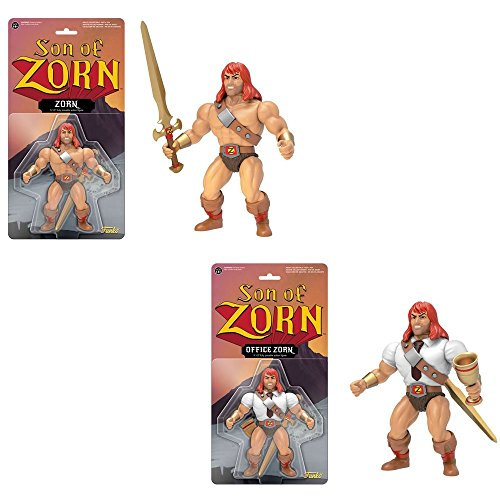 Action Figure: Son of Zorn Zorn in his classic Zephyria outfit, and in his office attire! Set of (His Outfit)