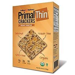 Primal Thin Crackers (Parmesan)(Organic)...