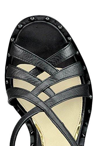 Noir Chaussures Femme BARCELÓ Cuir MCGLCAT03176E PALOMA Compensées pgOwqUx