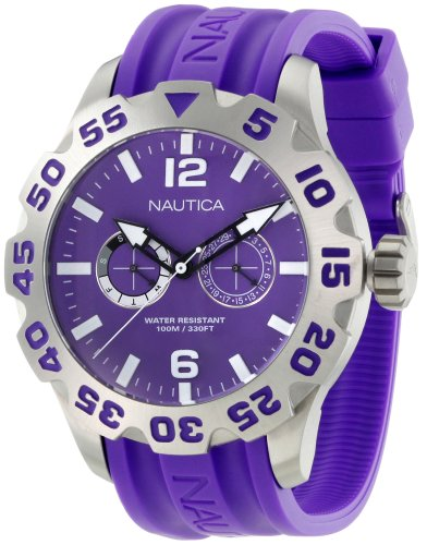 Nautica Men's N16609G Bfd 100 Multi Watch