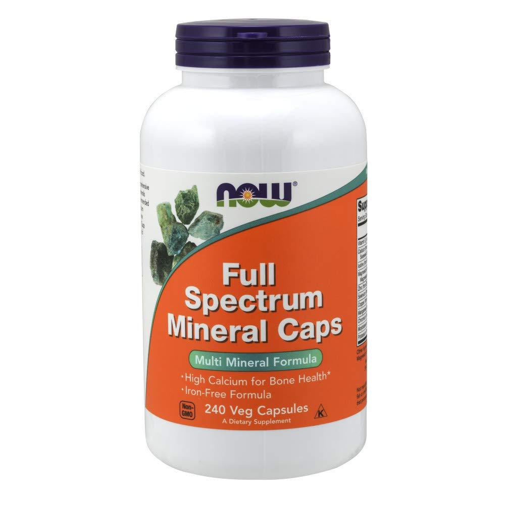 NOW Supplements, Full Spectrum Mineral, 240 Veg Capsules