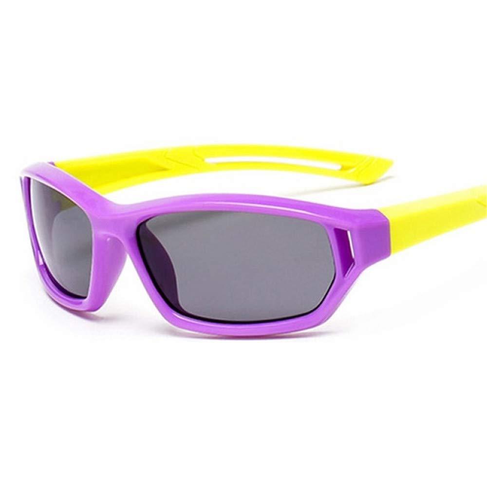 Wang-RX Niños gafas de sol polarizadas Tr90 Niños Chicas ...