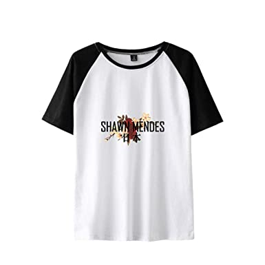 3d14d7f6e6de2 CTOOO T Shirt 3D Shawn Mendes Homme, Top Femme 2XS-4XL: Amazon.fr ...
