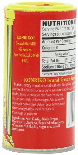 Konriko Greek Seasoning, 2.5-Ounce (Pack of 6) by Konriko (Image #4)