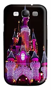The Purple Light Castles Custom Polycarbonate Plastics Case for Samsung Galaxy S3 / S III/ I9300