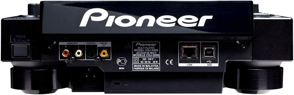 Amazon.com: Pioneer cdj-2000 jugador profesional de multi ...