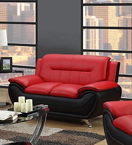 Amazon.com: GTU Furniture Juego de sillón de 3 y 2 ...