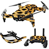 MightySkins Skin for DJI Mavic Air Drone - Cheetah | Max Combo Protective, Durable, and Unique Vinyl Decal wrap cover | Easy To Apply, Remove, and Change Styles | Made in the USA