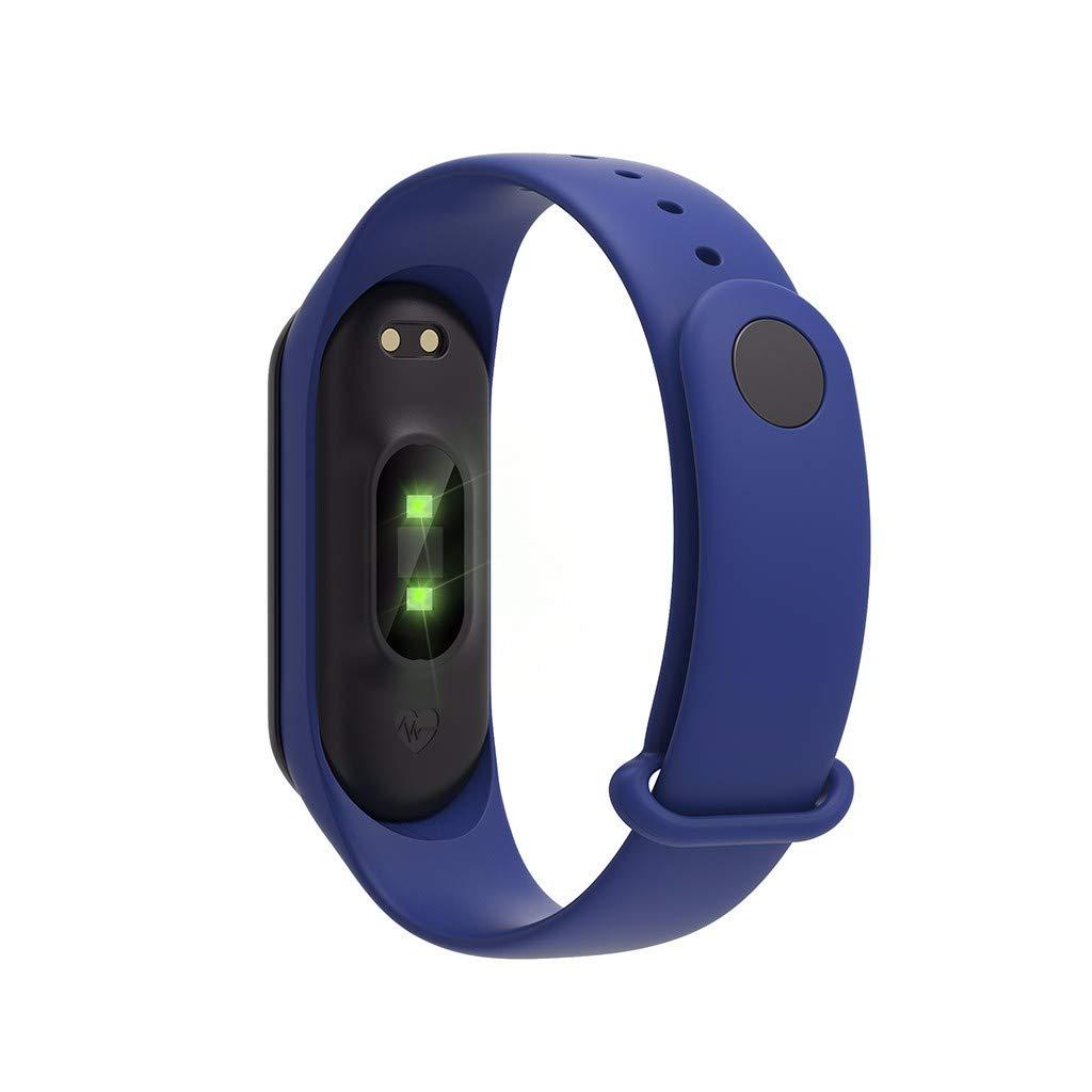 LUXISDE Fitness Bracelet smartwatch Ladies, Activity Tracker M4S Waterproof Sports Watch Smart Bracelet Heart Rate Activity Blood Pressure by LUXISDE (Image #4)
