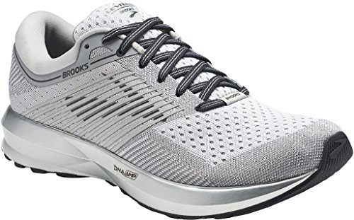 131 SIL 120258 WHT BRK 1B Levitate 12 Women's Shoe Running Brooks 39369F0 nARz1PC