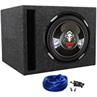 Boss P126DVC Phantom 12 2300w Car Audio Subwoofer + Vented Sub Enclosure Box