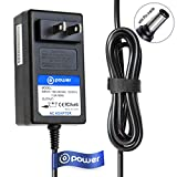 T-Power ( 6.6ft Cable ) Ac Dc adapter for 12VDC Elmo 9419 TT-02S TT-02 TT-02RX Teacher TT-02RX Document Camera Replacement Switching Power Supply Cord Charger