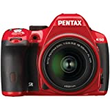 Pentax K-50 16MP Digital SLR Camera Kit with DA 18-135mm WR f3.5-5.6 Lens (Red)