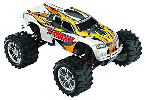 Traxxas T-Maxx Classic: 1/10-Scale Nitro-Powered 4WD Monster Truck with TQ 2.4GHz radio, White