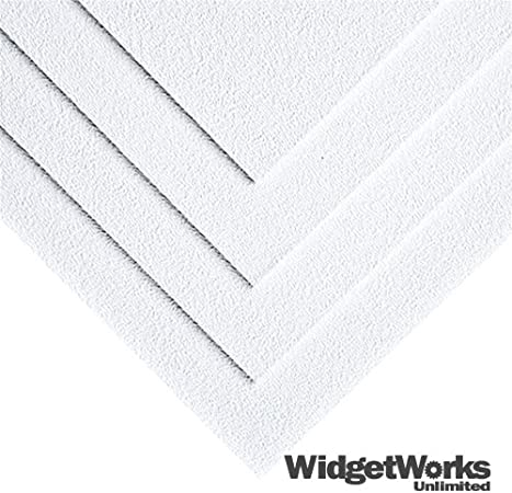 8 x 12 x 1//16 3 Sheets Polly Plastics Heat Moldable Plastic Sheets