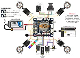 OMNINXT F7 Airbot top of the range flight controller based on the Omnibus on