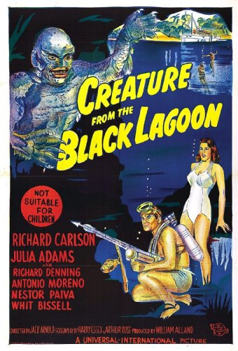 "Creature from the Black Lagoon  Movie Poster 24""x36"""