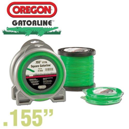 Oregon 21-155 Gatorline Round String Trimmer Line .155-Inch Diameter 3-Pound Spool