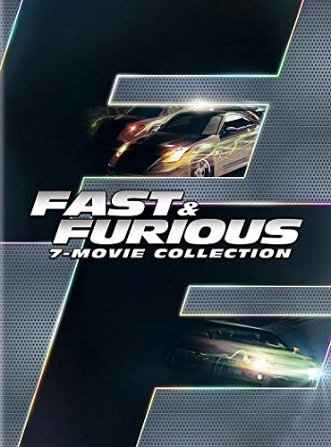 Fast & Furious 7-Movie Collection DVD Vin Diesel, Paul Walker, Lucas Black