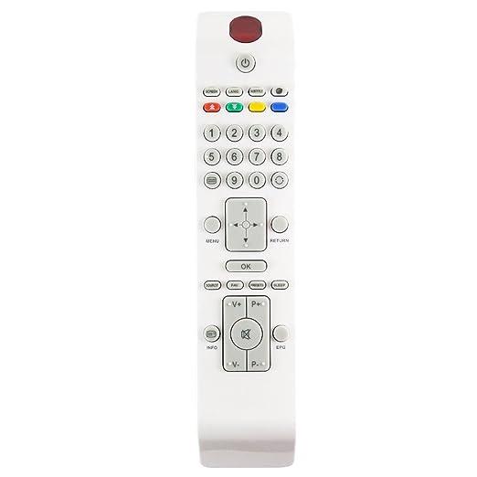 Echter weißer RC3902/rc-3902 TV Fernbedienung für bestimmte TECHWOOD Modelle