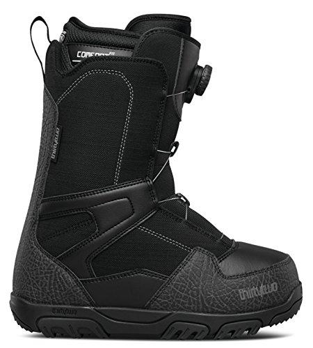 - thirtytwo Shifty Boa '17 Snowboarding Boot, Black, 14