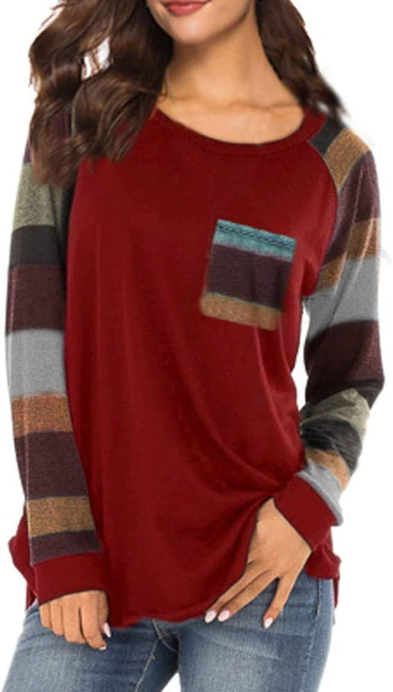 Yesmile Mujer CamisetasLas Mujeres Camisa Camiseta de Manga Larga de Terciopelo Casual para Mujer Mini Vestido de Sudadera (Red, XL): Amazon.es: Ropa y accesorios