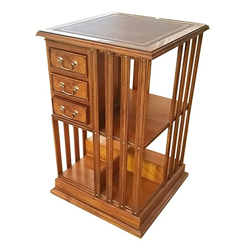 Revolving Bookcase Bookcases (NOF206 Country Estate Revolving Bookcase by NIAGARA FURNITURE)
