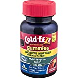Cold-EEZE Cold Remedy Plus Multi-Symptom Relief Gummies, Mixed Fruit, 36 Count