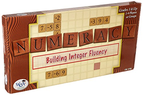 Learning Advantage 4728 Numeracy: Building Integer Fluency Game, Grade: 3, 16.5