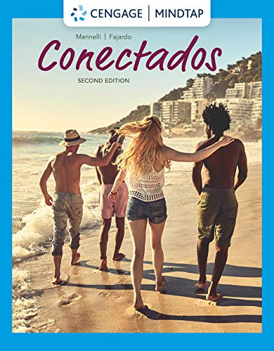 MindTap for Marinelli/Fajardo's Conectados, 2nd Edition [Online Code] by Cengage Learning