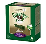 Greenies Senior Tub-Pak Treat for Dogs, 27-Ounce, Large, My Pet Supplies
