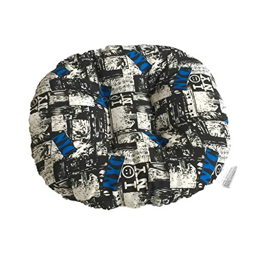 Price comparison product image MChoiceChair Cushion Round Cotton Upholstery Soft Padded Cushion Pad Office Home Or Car Seat (A)