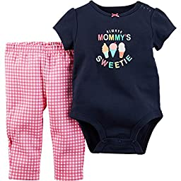 Carters Always Mommys Sweetie 2 Piece Pants Set