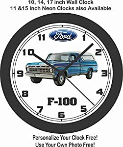amazon jim s classic clocks 1976 ford f 100 pickup truck big 10 Ferrari 250 GT Berlinetta clocks