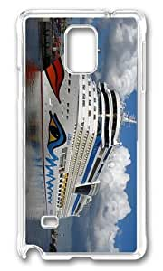 Adorable Aida Bella Ship Cruises Hard Case Protective Shell Cell Phone Iphone 5C - PC Transparent