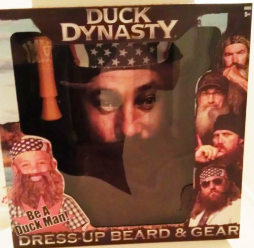 Willie Robertson Fake Beards and American Flag Bandanna Costumes  sc 1 st  Best Costumes for Halloween & Willie Robertson Duck Dynasty Halloween Costumes