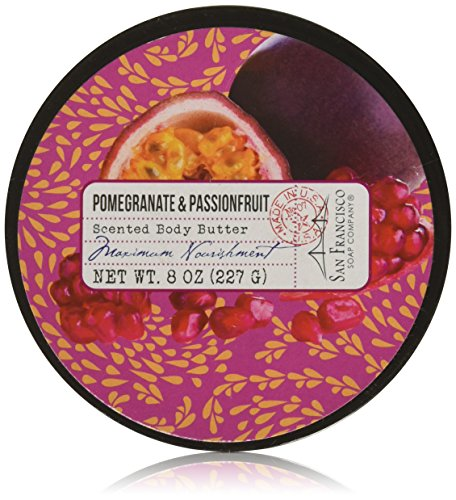 san-francisco-soap-company-pomegranate-passion-fruit-body-butter-8-ounce