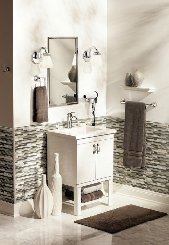 Moen YB5124BN Voss 24-Inch Bathroom Towel Bar, Brushed Nickel by Moen (Image #4)