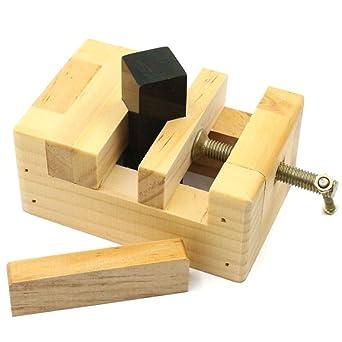 Diy Wood Working Tool Mini Solid Wood Printing Bed Vise