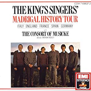 The King's Singers' Madrigal History Tour