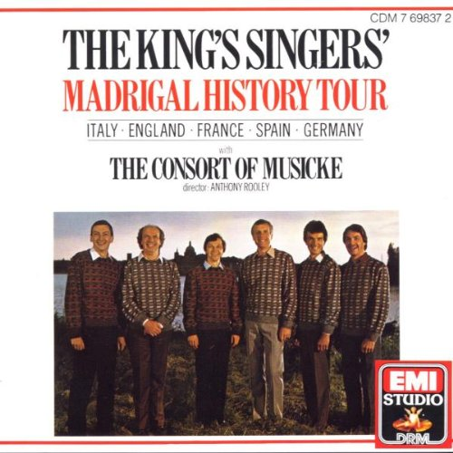 The King's Singers' Madrigal History - Scott Store Jeremy