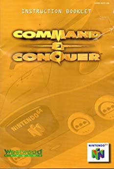 command conquer n64 instruction booklet nintendo 64 manual only rh amazon com Command and Conquer 1 Command and Conquer Red Alert 2