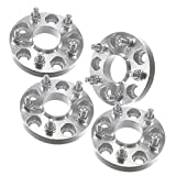 "(4) 20mm (.8"") 5x114.3 Hubcentric Wheel Spacers fits Acura TSX Tl Honda Accord Civic Prelude 64.1 Hub ..."